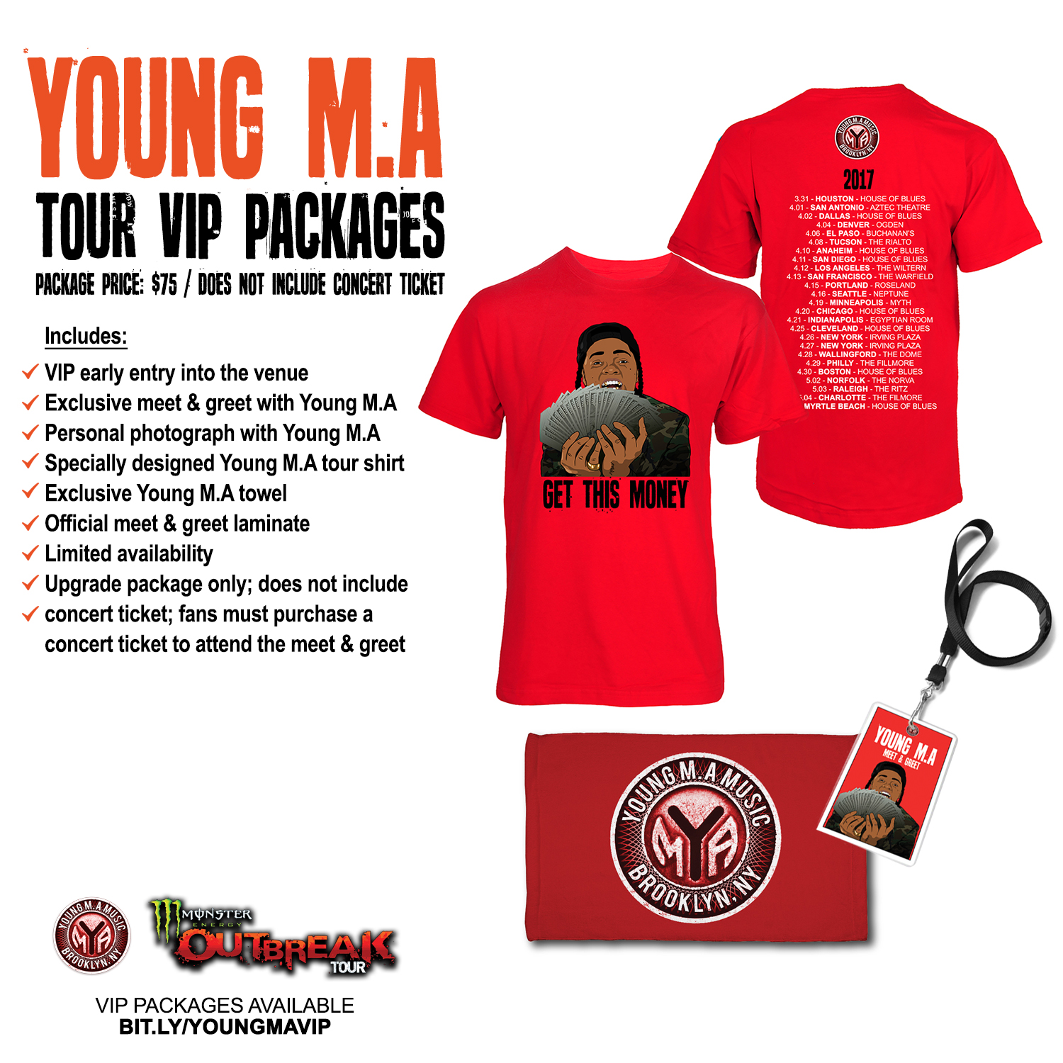 Young Ma X 21 Savage Monster Energy Outbreak Tour Young Ma Music